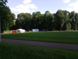 Sportanlage des LC Auensee - August-Bebel-Kampfbahn