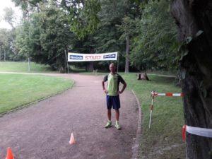 Bei den Staffeln mit dabei - Bahnradsportlegende Jens Lehmann