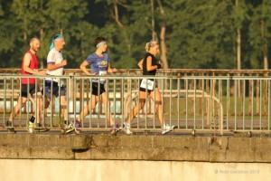 100 km - Lauf am Auensee